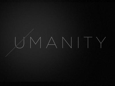 Umanity logo elegant thin