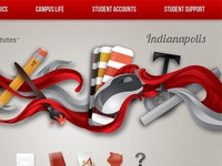 Ai Indianapolis Student Portal Concept