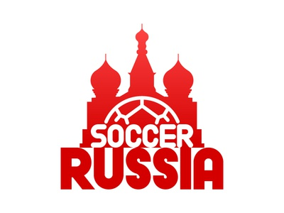Logo soccer cup Russia