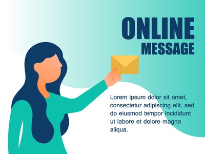 Concept online message