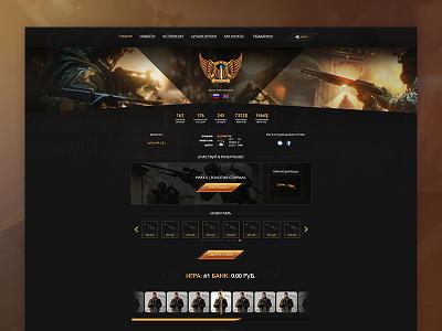 CS Roulette counter-strike cs csgo design interface psd roulette site marts martspro