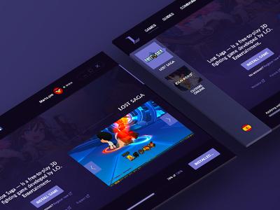 Laxion games launcher launcher web studio saga marts lost laxion games game design closers anime