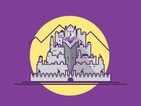 Minas Tirith - Gray - Hi, I'm Fantasy Architecture