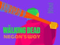 Triple Helix Creative Draws Walking Dead Negans Way Season 7