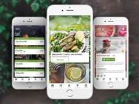 Organic Food Delivery UI