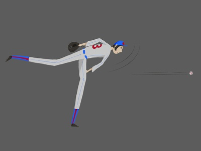 Playoff Baseball pitcher baseball photoshop illustration