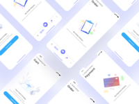 Empty App Screens with Illustrations