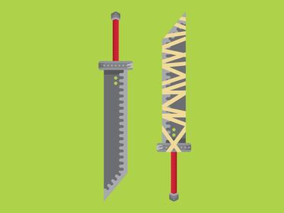Cloud's Swords 🌩️