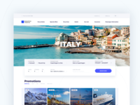 Krantas travel booking UI