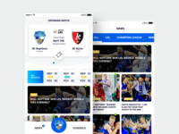 Basketball team Neptūnas sport app