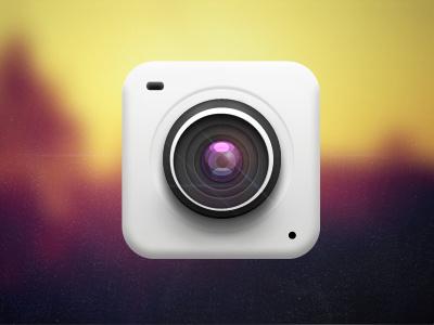 iOS Camera Icon Practice icon ios iphone icons app camera lens