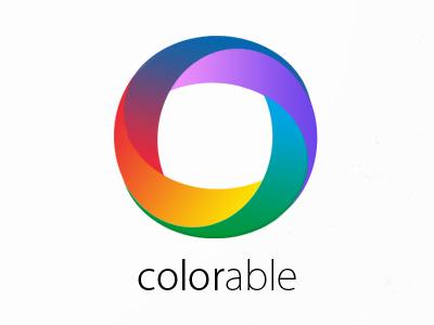 Logo Concept color logo gradient colors rainbow colorful branding