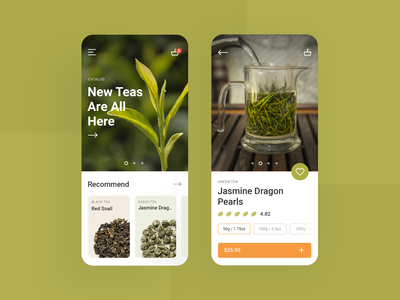 Tea Store App