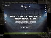 Virtus.pro vs SK Gaming on real football match