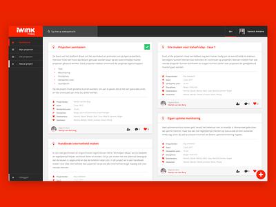 iWink Valve Friday platform website webdesign web visual ux userinterface ui mobile valve iwink design platform