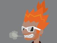 Hipsterkuma's Head