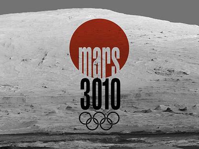 Mars 3010 olympics logo space terrifying isolation tokyo