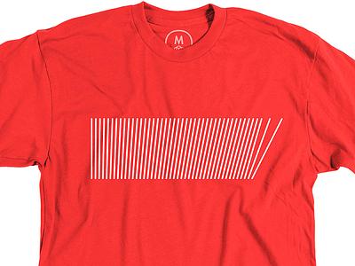 Falling Down shirt cotton bureau geometric lines