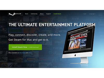 Steam web install steam valve redesign