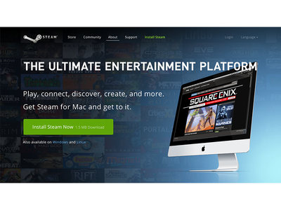 Steam web install steam valve redesign