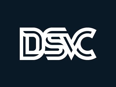 DSVC Monogram branding inline logo identity monogram