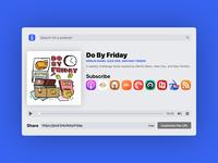 PodLink Web App