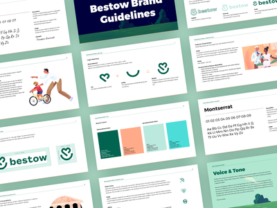 Bestow Brand Guidelines brand guidelines style guides