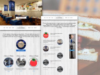 La Taberna de los Mundos food wordpress restaurant