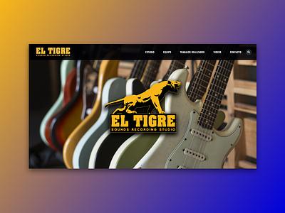 El Tigre Sounds Recording Studio wordpress music studio sounds