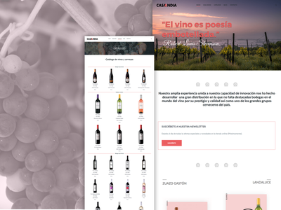 Casa Andia wordpress shop winery wine