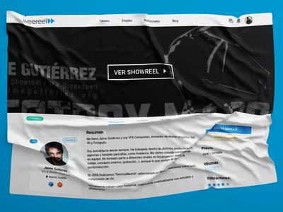 Weereel Promo 2 video production platform jobs freelance blue