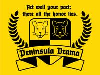Peninsula Drama Logo (1st Iteration)
