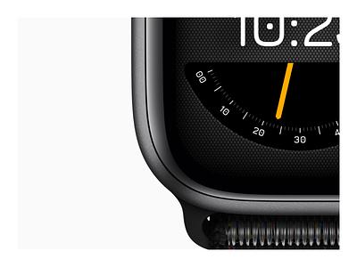 Apple Watch Series 4 face concept clock apple devices apple watch mockup watch face watchos watch ui watch os apple watch apple design apple