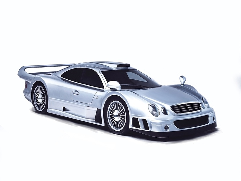 Mercedes Benz Clk Gtr By Dave92 On Dribbble