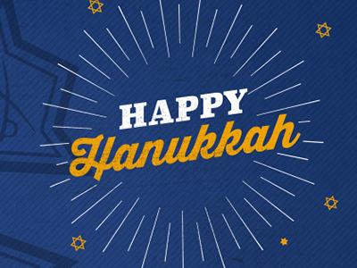 Sigma Nu Fraternity Happy Hanukkah