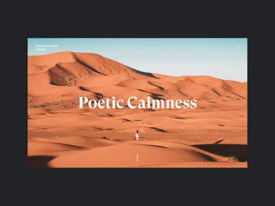 Photographer Portfolio photography photographer portfolio cconcept webdesign animation