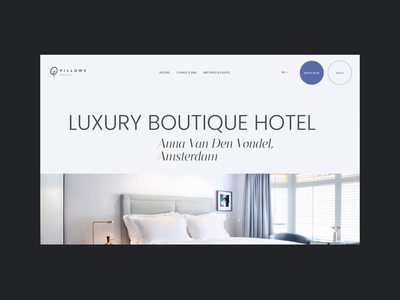 Hotel Redesign Concept — Booking minimal uxdesign uiux webdesign hotel booking hotel booking animation