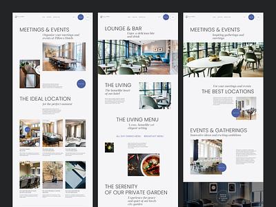 Hotel Redesign Concept concept typo typography minimal grid layout desktop webdesign hotel