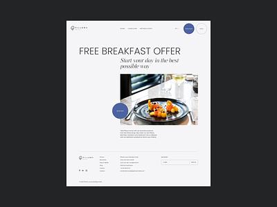 Hotel Redesign Concept typo inspiration typography minimal minimalism webdesign concept hotel