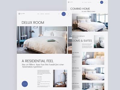 Hotel Redesign Concept hotel typography inspiration minimalism minimal webdesign concept