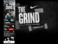 Nike, The Grind interactive banner