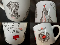 Customized Cup Art with TJ Principles