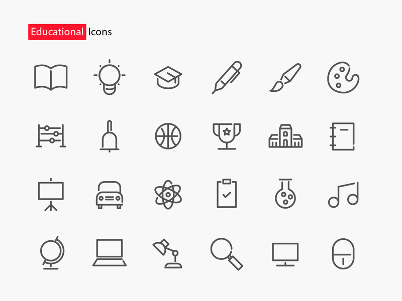 Educational Icons app icons icon education educational