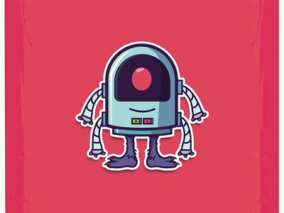 Live dribbble Robot