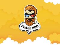 Smoketower Sticker Hipster