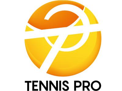 Tennis Pro sport pro logo tennis