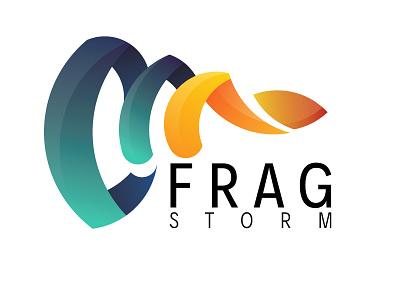 Frag Storm fps games video storm frag logo