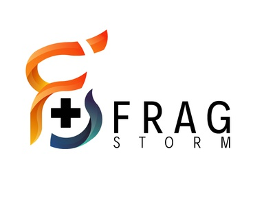 Frag Storm V2 fps games video storm frag logo