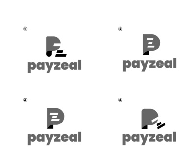 Payzeal concept bank pay logo
