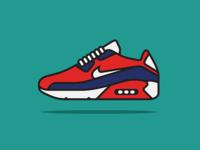 Nike Air Max 90 Ultra 2.0 Flyknit Illustration